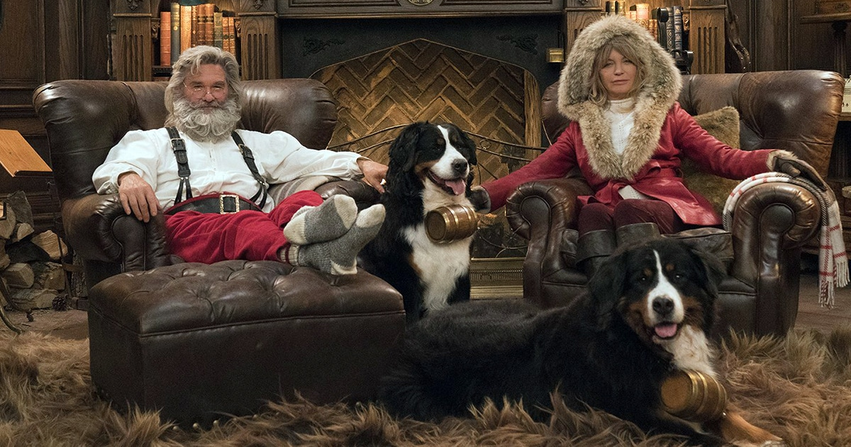 new Netflix Christmas movies 2020 - The Christmas Chronicles 2 with Kurt Russell and Goldie Hawn