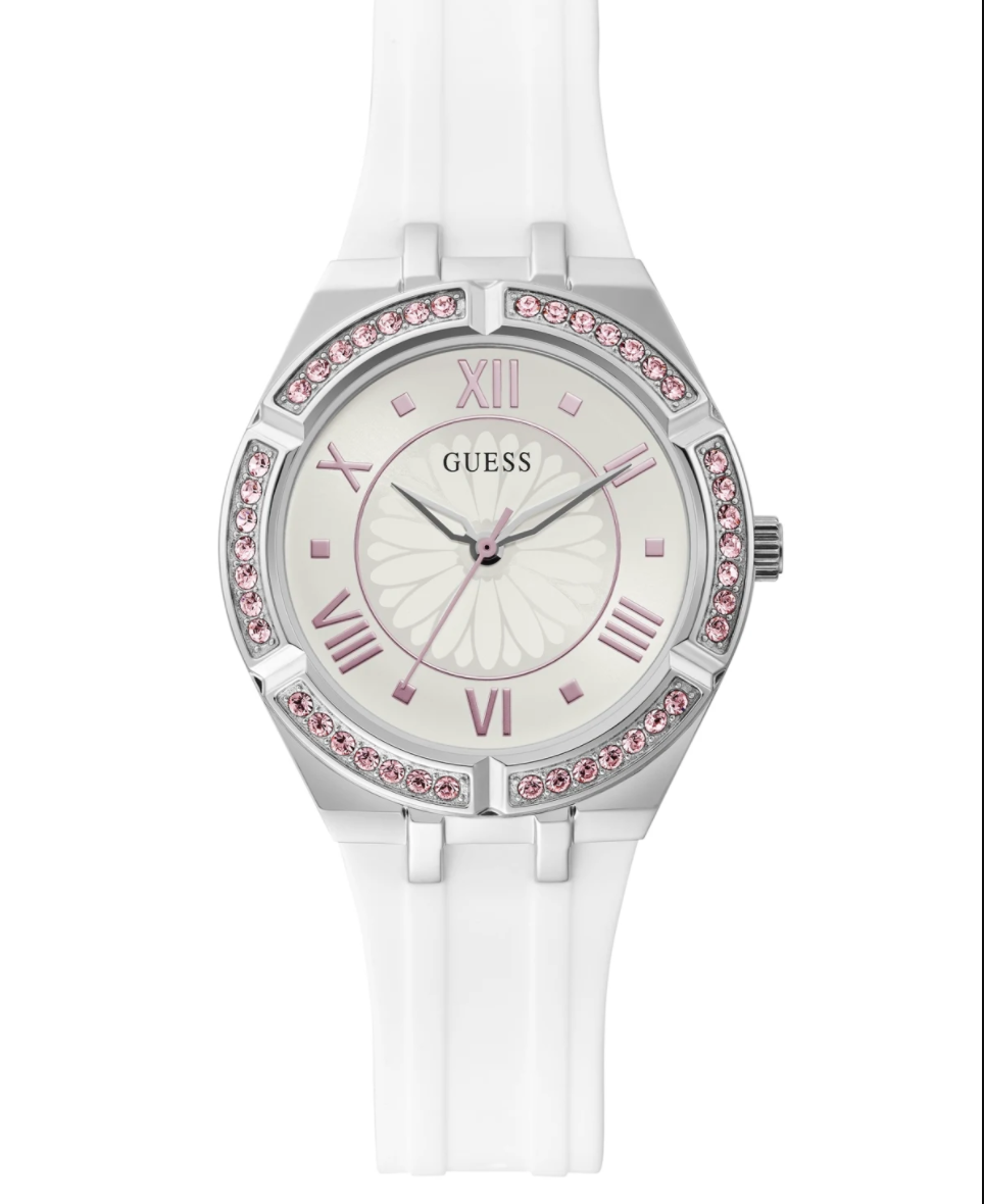 Guess Sparkling Pink Analog Watch