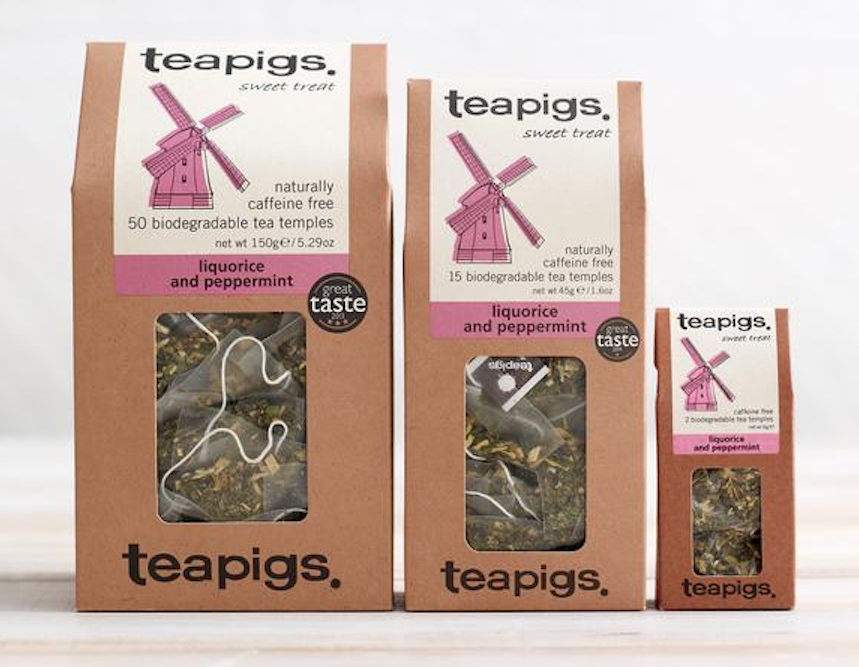 Teapigs Licorice and Mint Tea