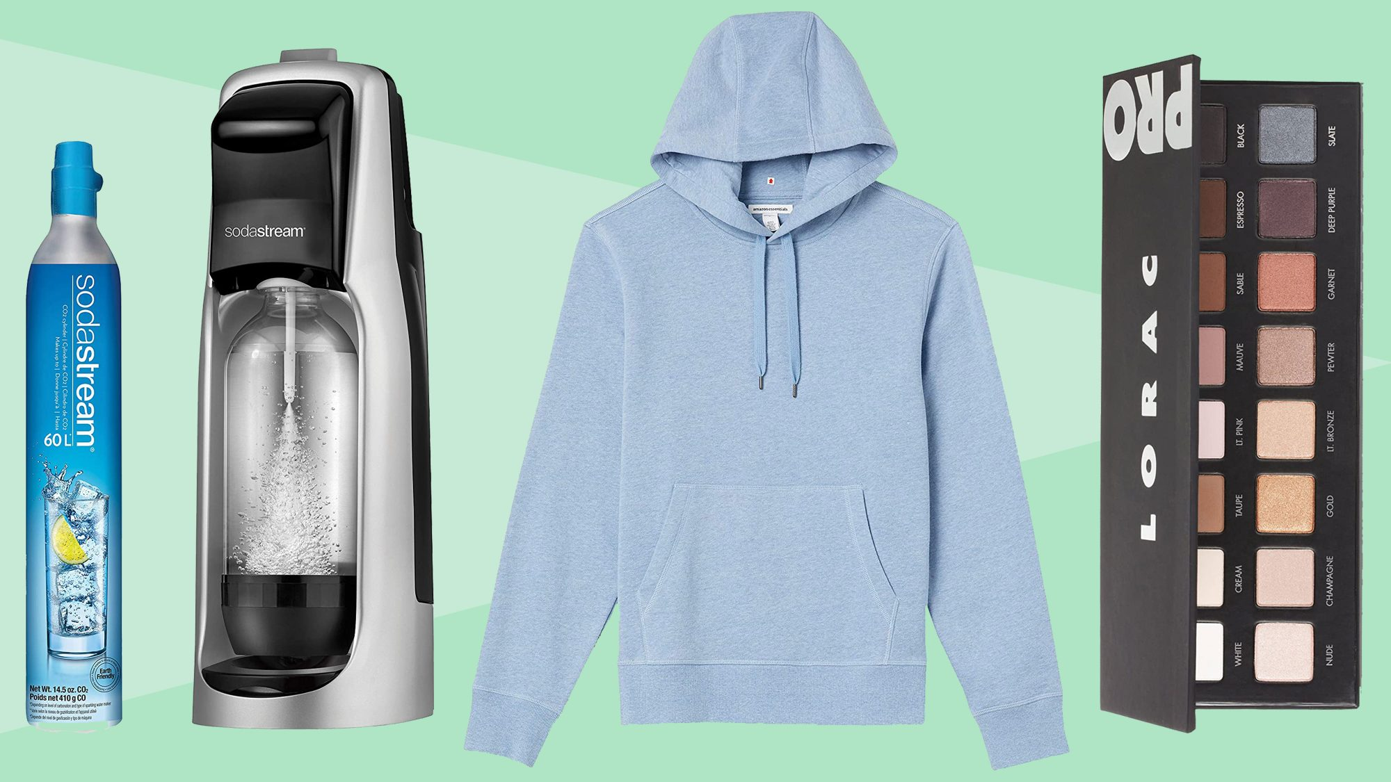 eyeshadow amazon hooded fleece sodastream: editor picks Amazon Prime Day