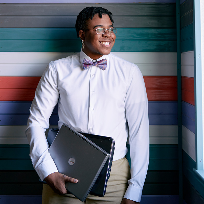 How to Be Hopeful Right Now: Because this teen makes computers more accessible