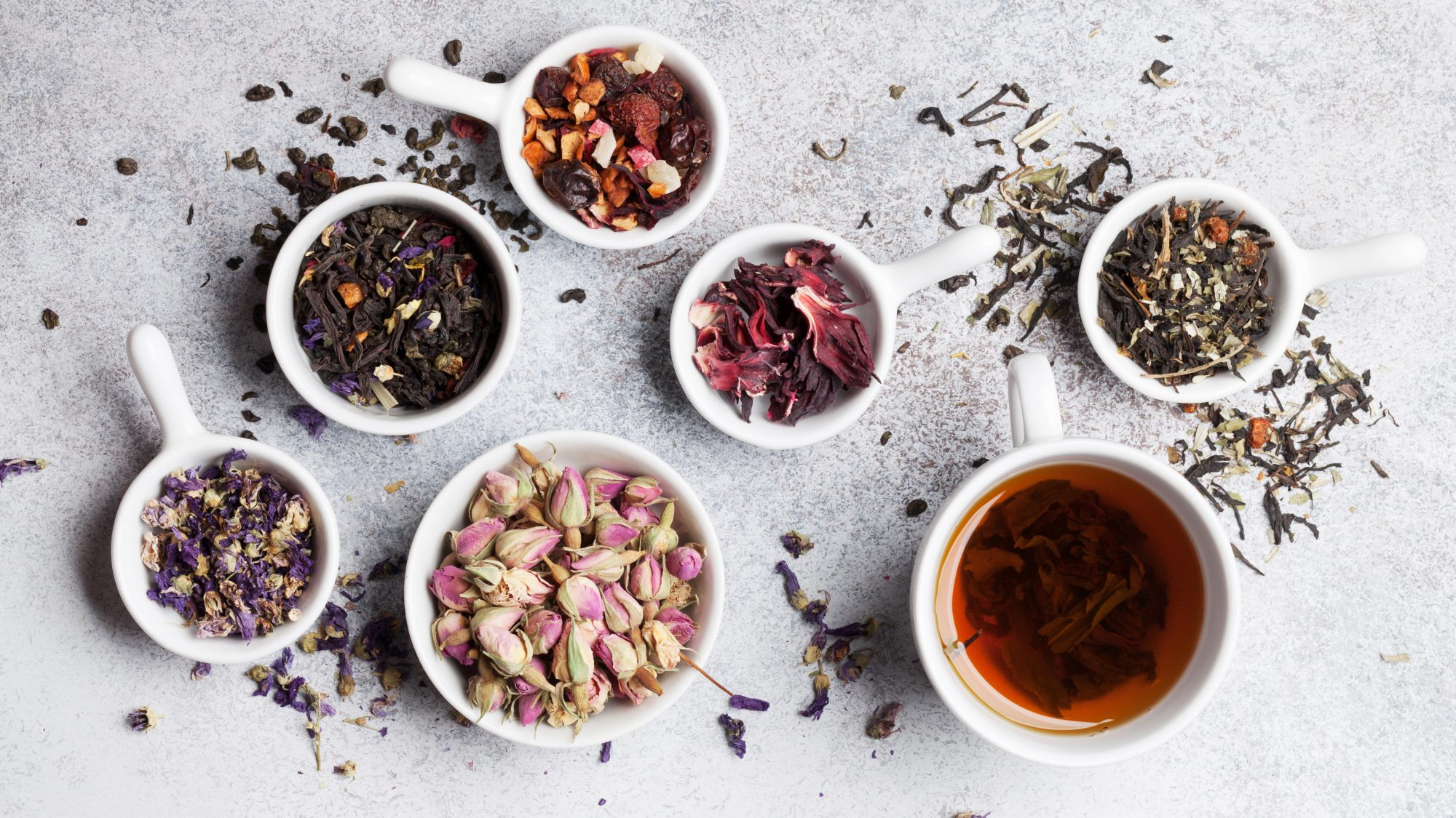 reasons to drink more tea: varieties of tea