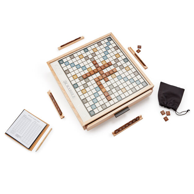 Best gifts for men, gift ideas for men - Scrabble Luxe Edition Game