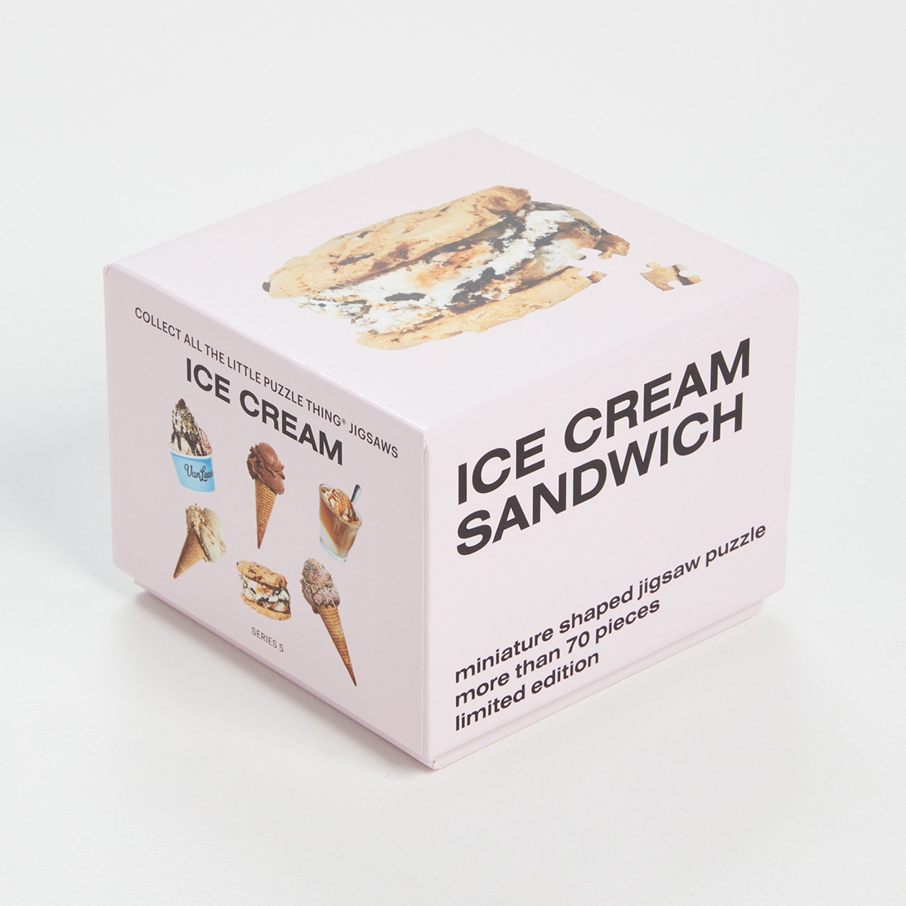Holiday Gifts for Employees and Coworkers 2020: Areaware Little Puzzle Thing: Ice Cream Sandwich