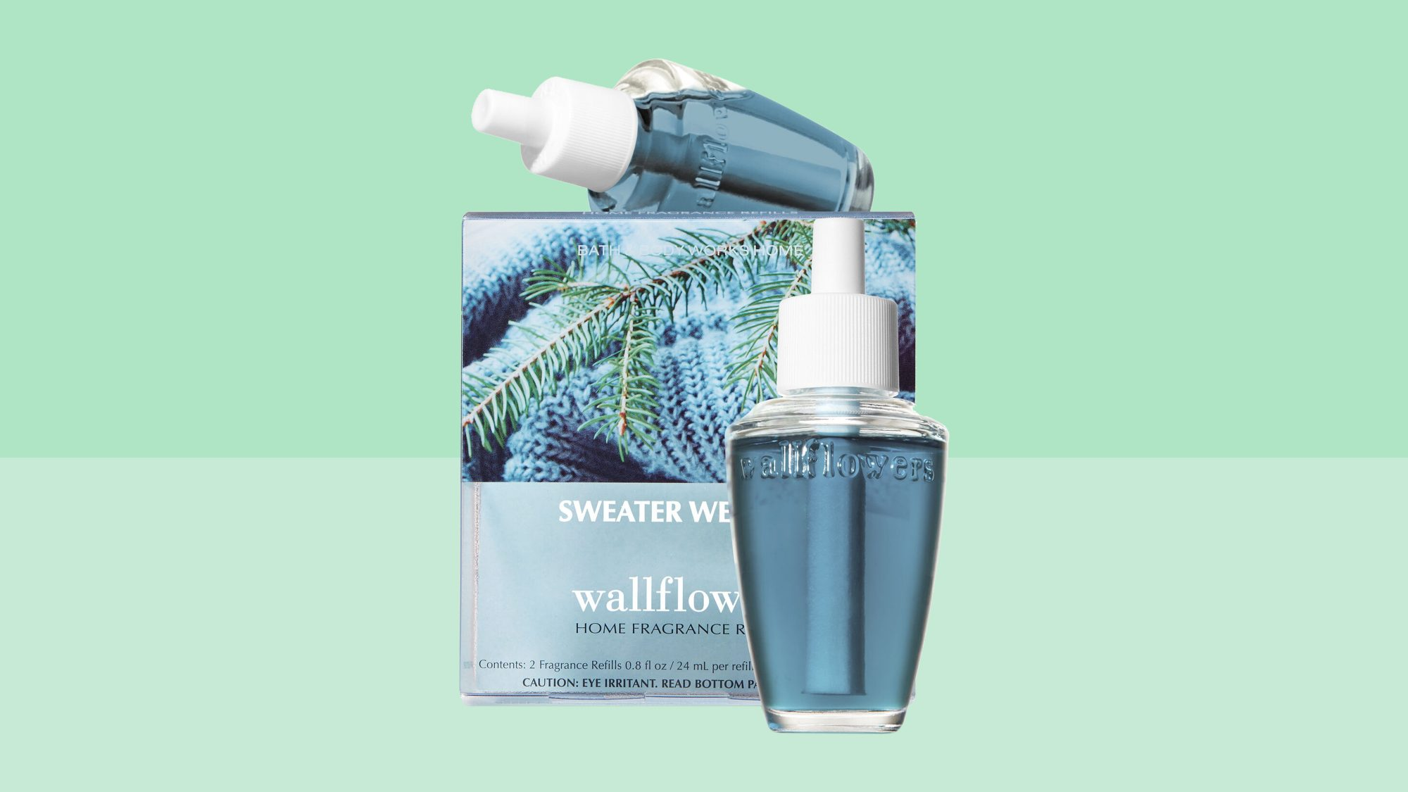 bath body works sweater weather wallflowers fragrance refill