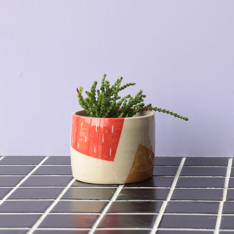 Gifts for plant lovers - Nightshift Ceramics Pieces Planter