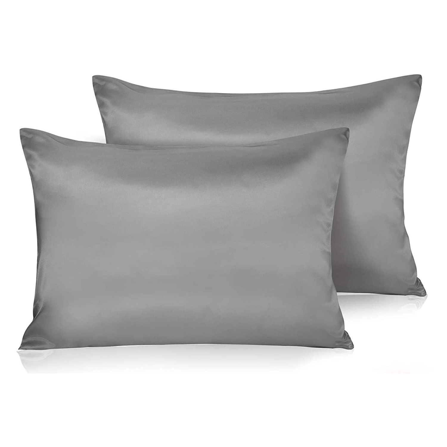 Set of 2 Pillow Cases Satin Lavendar Brand New in Package