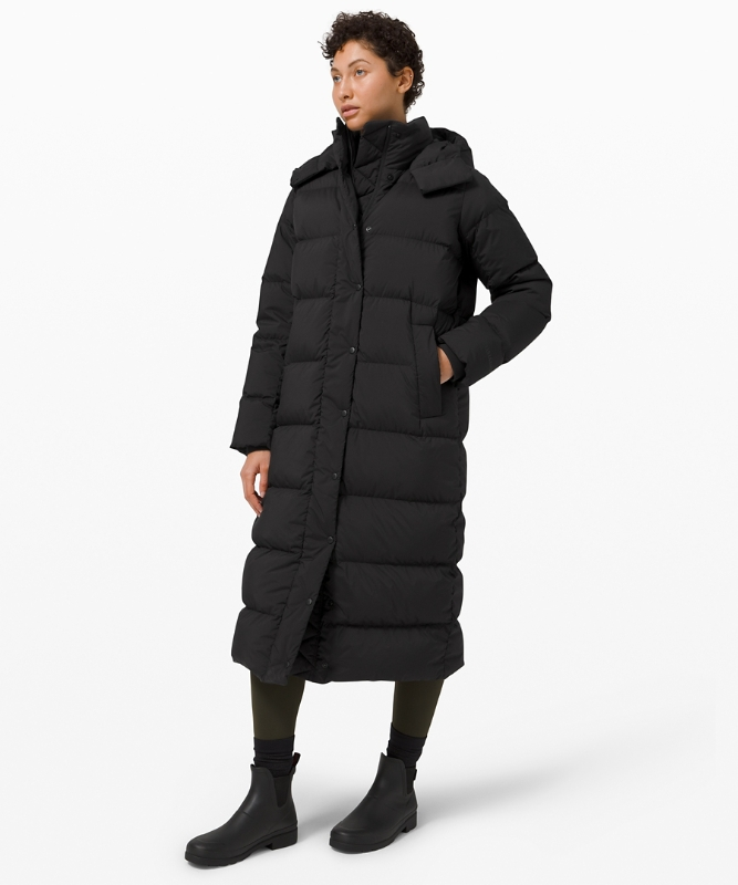 Lululemon Wunder Puff Long Jacket