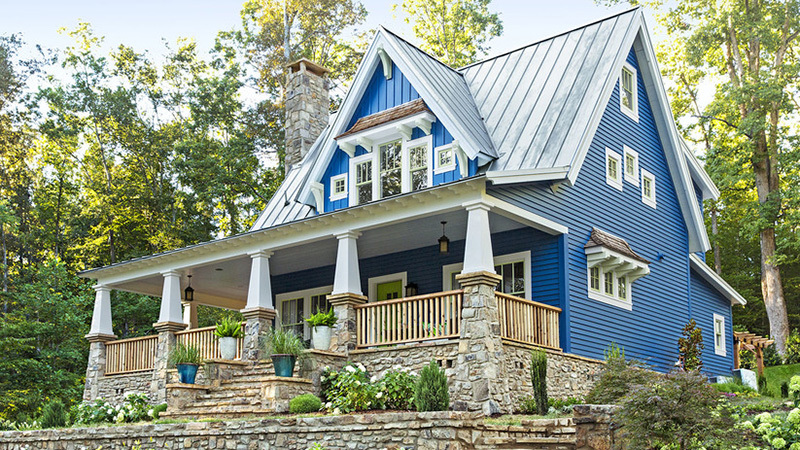 Modern Farmhouse Was The Most Popular Home Style Of 2020 5 Inspiring Farmhouse Design Plans Real Simple