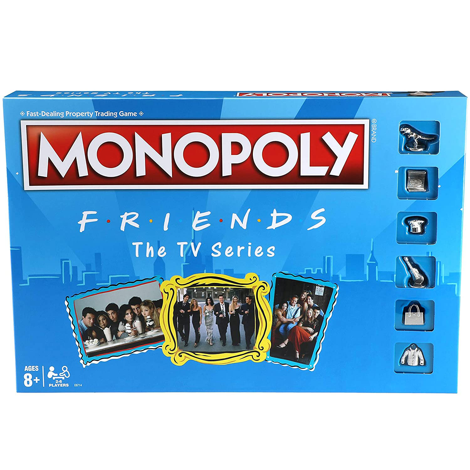 monopoly friends tv series game