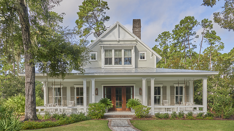 Southern Living House Plans, Lowcountry Farmhouse