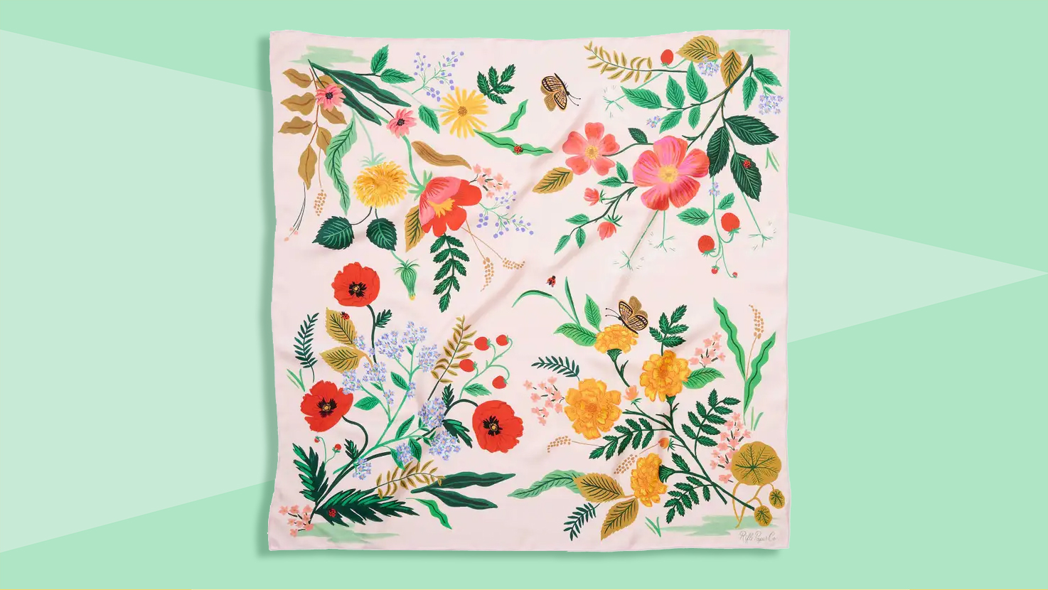 Gifts for sisters - Rifle Paper Co. Botanical scarf