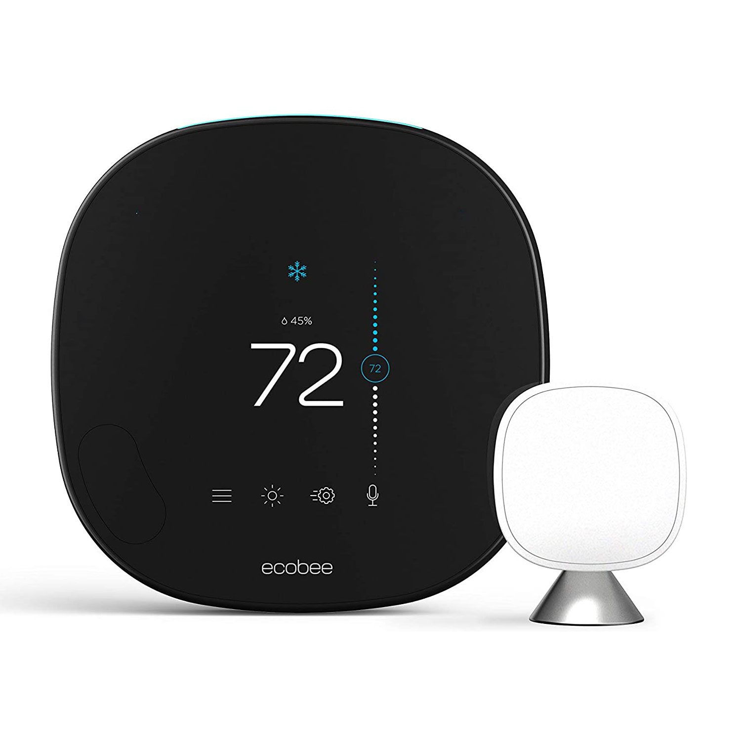 ecobee smart thermostat voice control smart sensor alexa