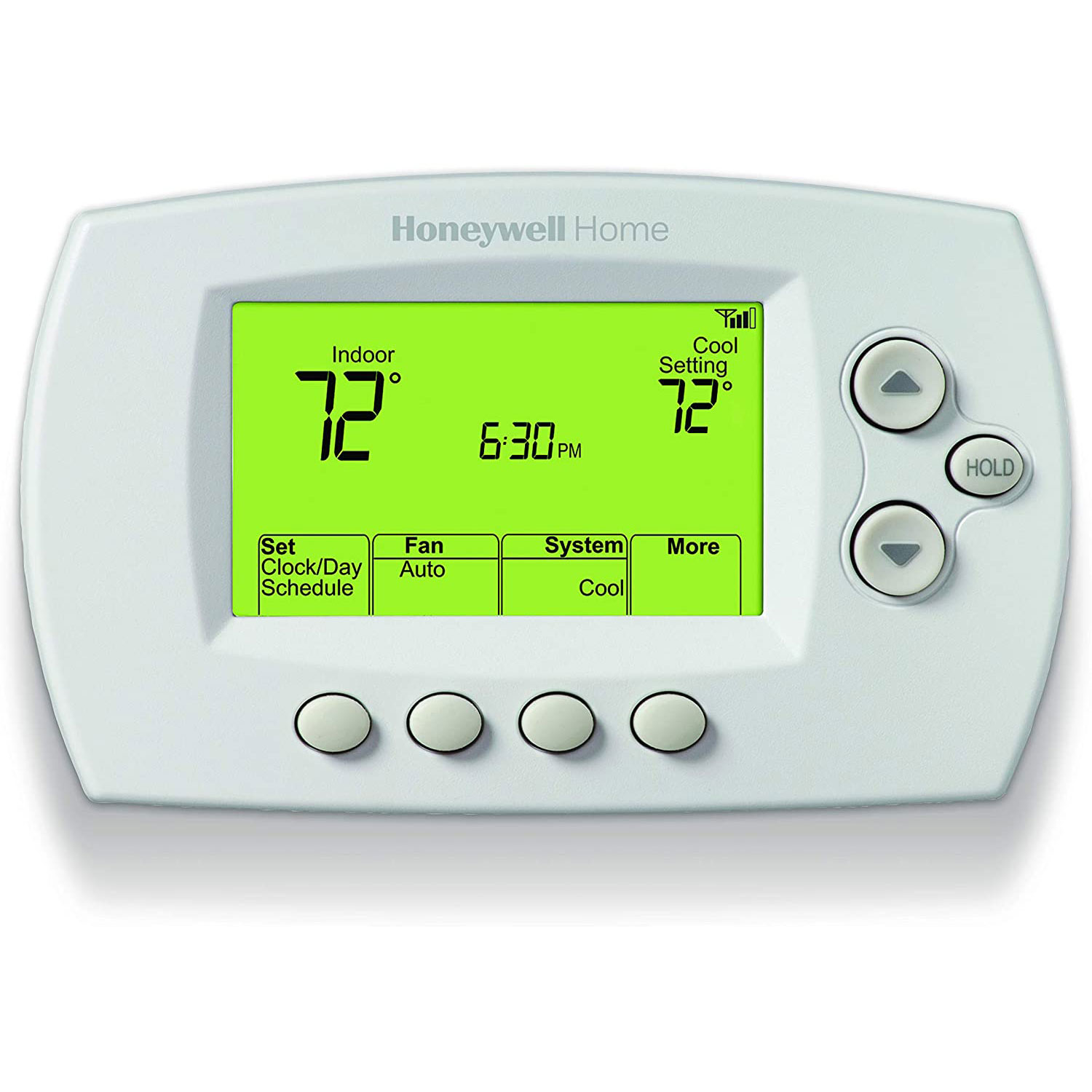 honeywell home wifi programmable thermostat alexa
