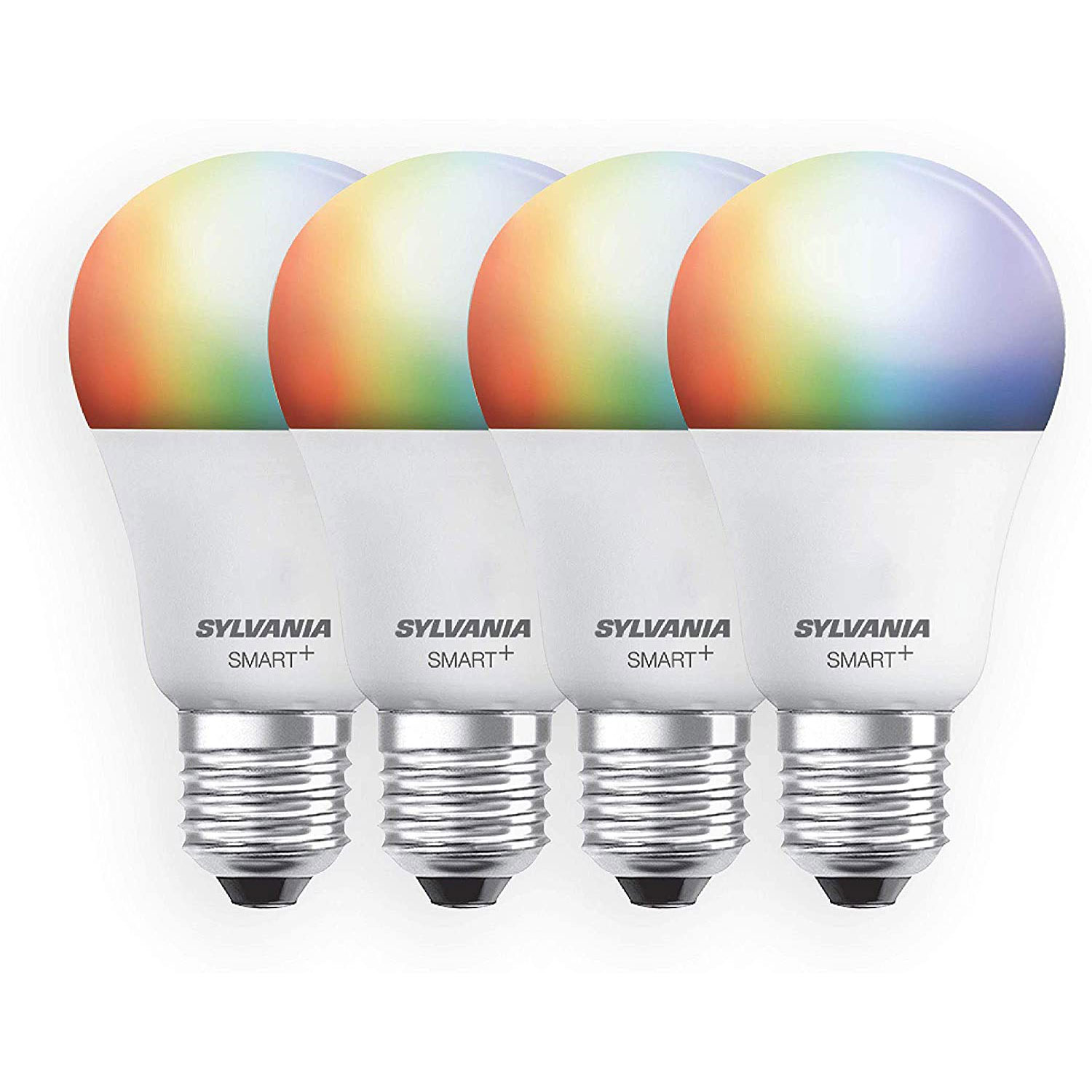 sylvania smart wifi full color dimmable led light bulb alexa google