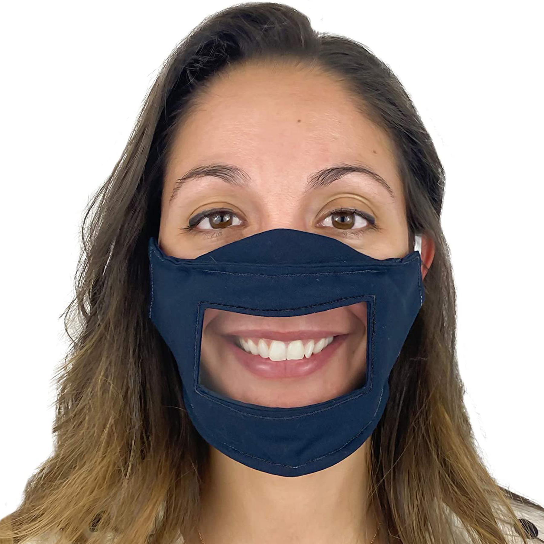 Clear Face Masks: MaMo Creations Lip Reading Cotton Face Mask