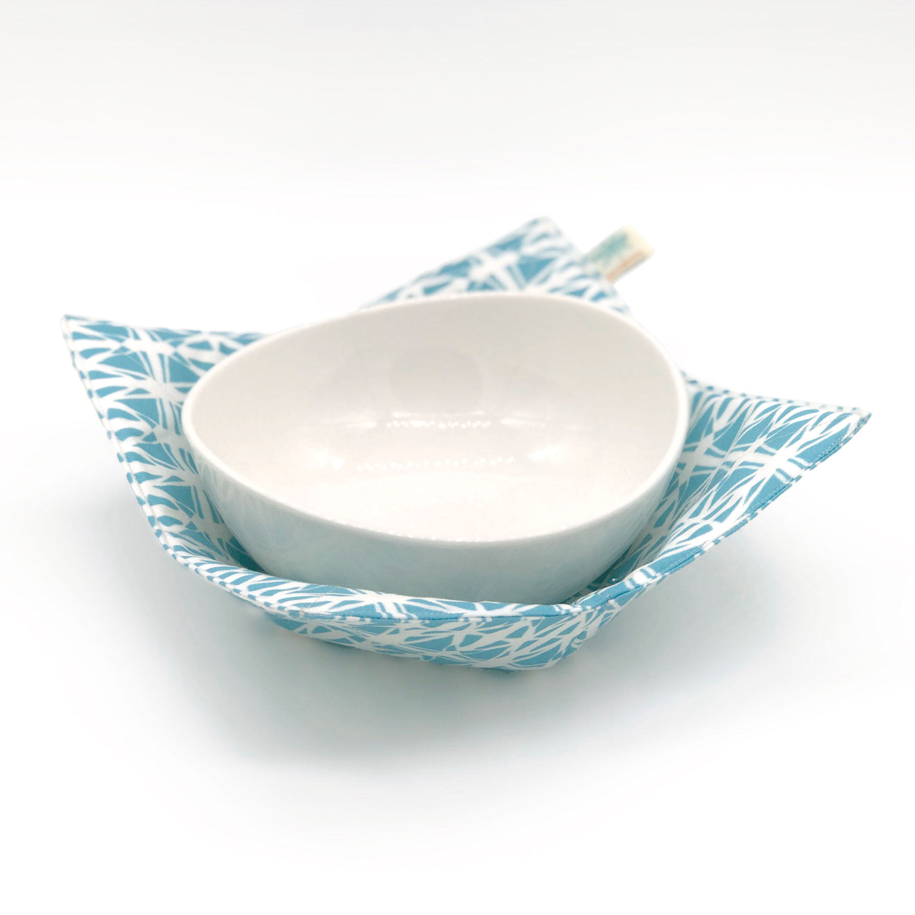 6 Clever Items (11/20/20) - Shawn Sargent Designs Microwaveable Bowl in Aqua Stained Glass