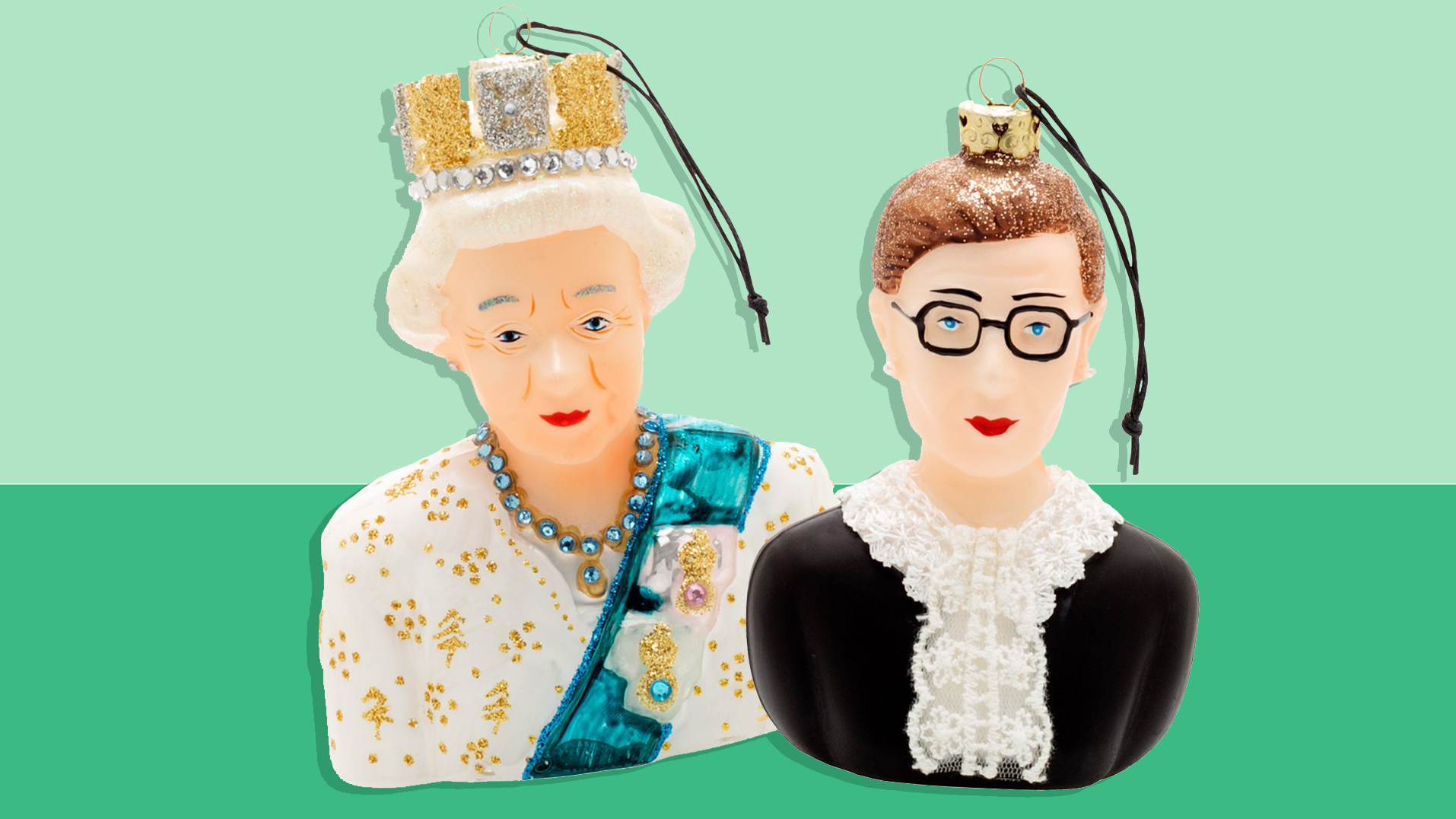 Best Christmas gifts 2020 - RBG Queen ornaments