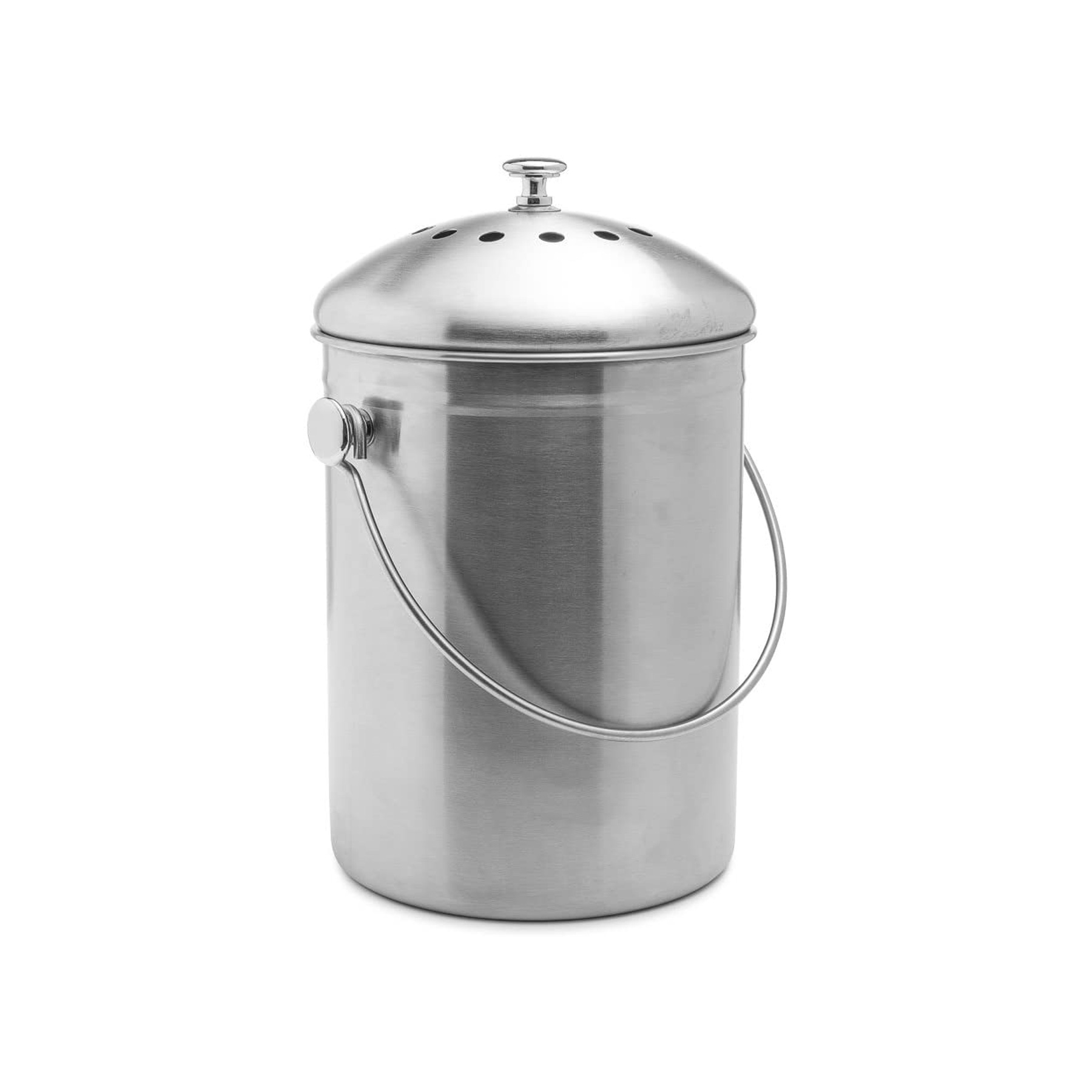 At-Home Composter Bin: EPICA Stainless Steel Compost Bin