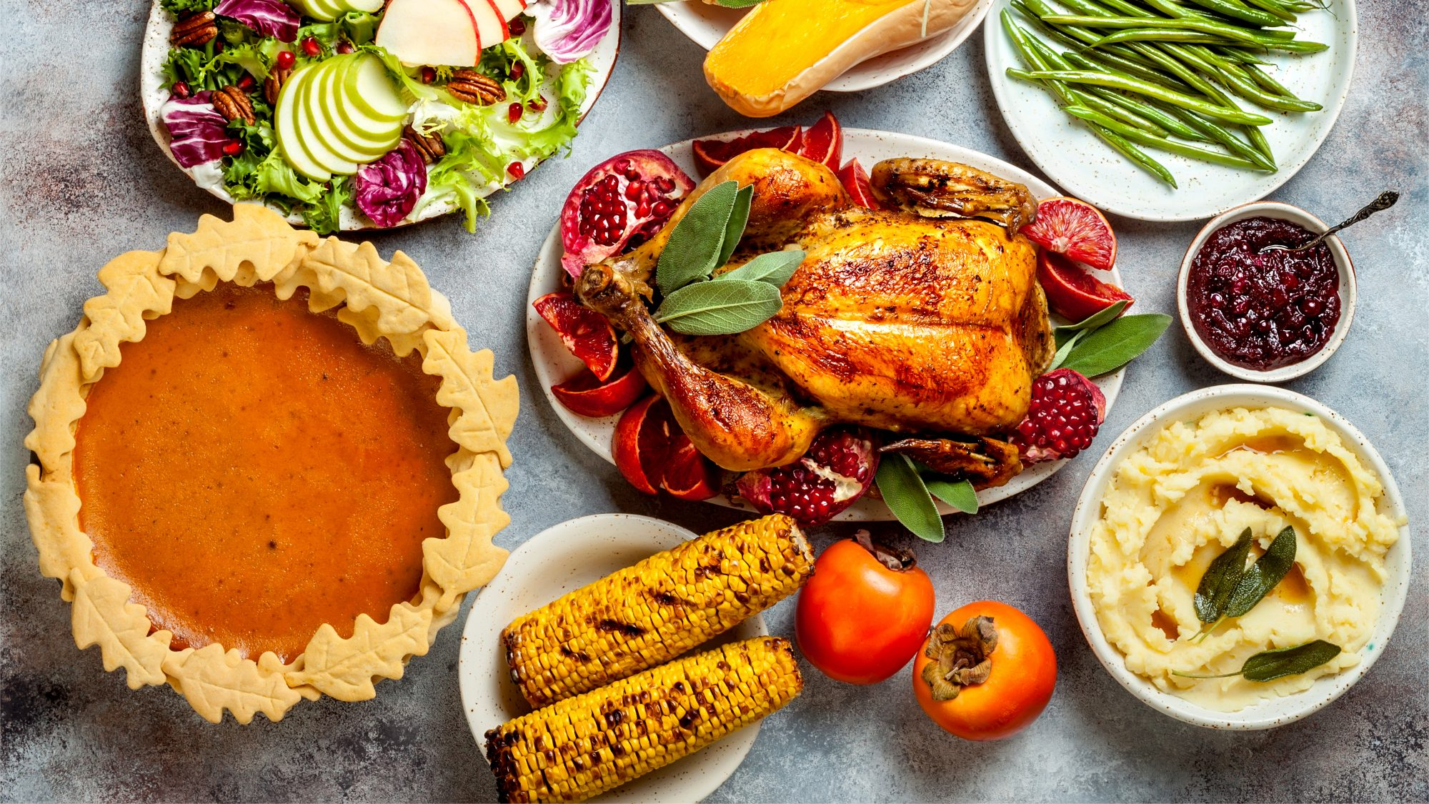 Where-to-order-thanksgiving-food: Thanksgiving feast