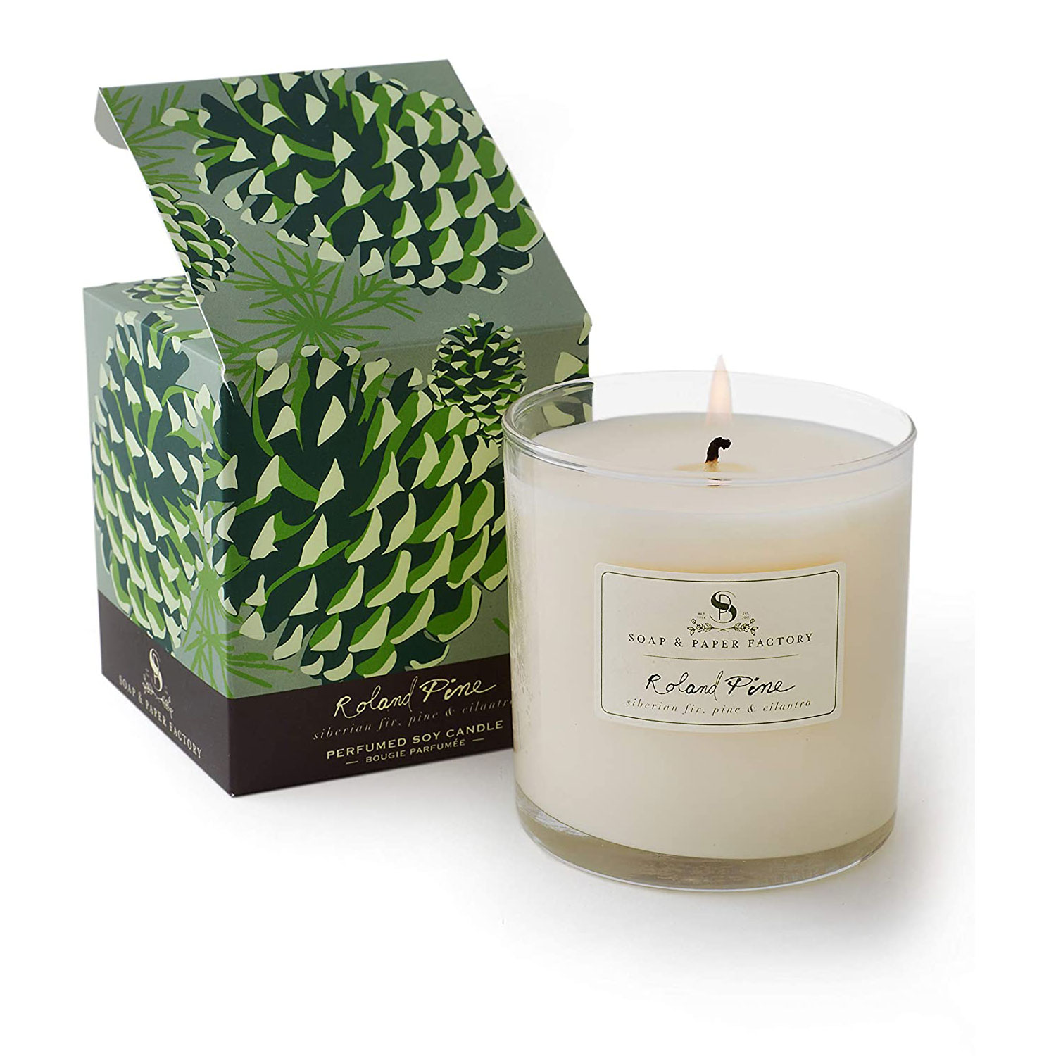 soap paper factory roland pine candle