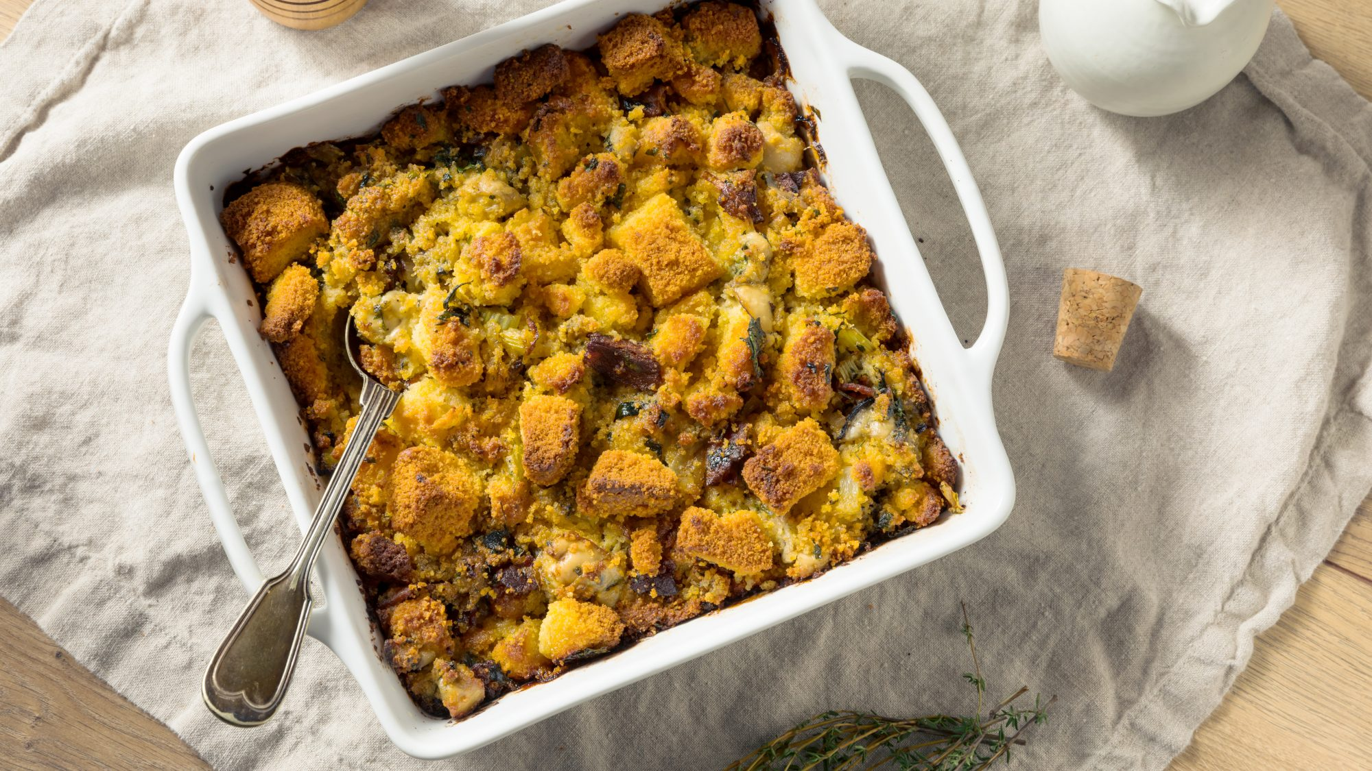 Vegetarian stuffing or dressing - tips and advice for cooking meatless vegetarian stuffing