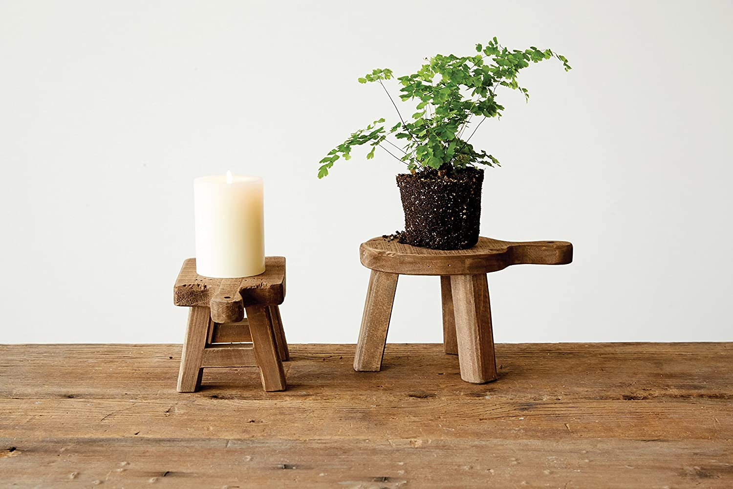 Best Holiday Decor: tabletop stools
