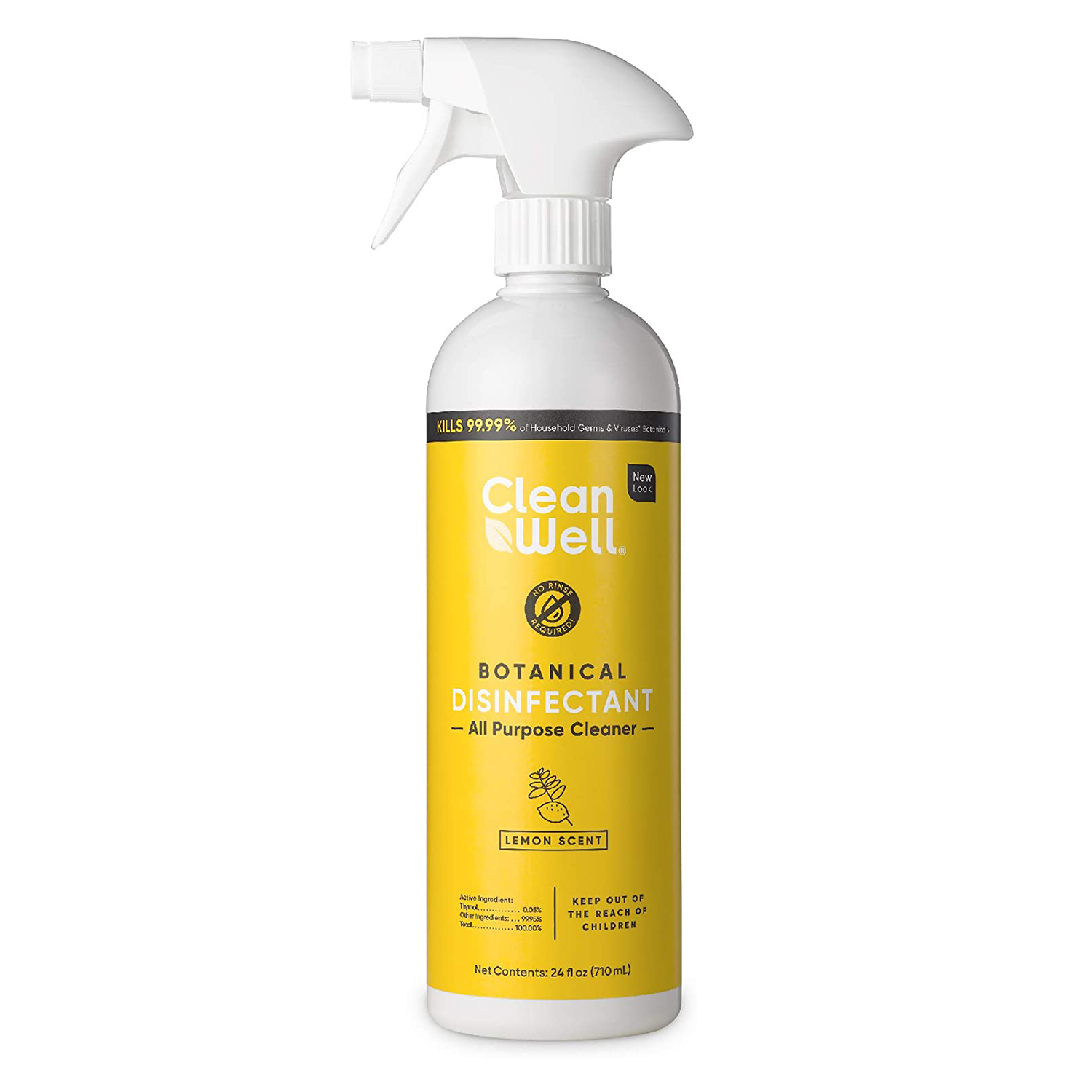 cleanwell botanical disinfectant all-purpose cleaner