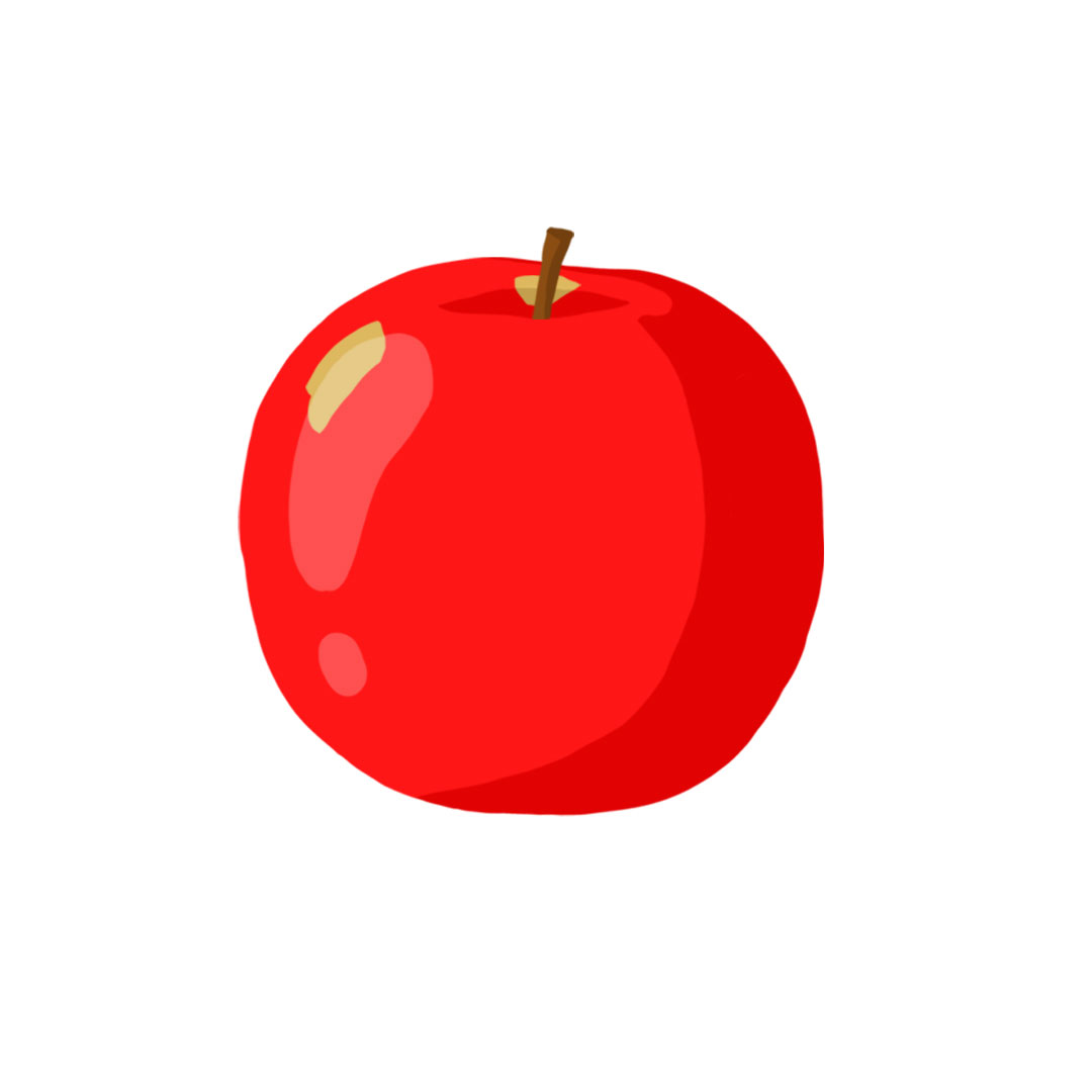 Types of apples - Fuji apple picture