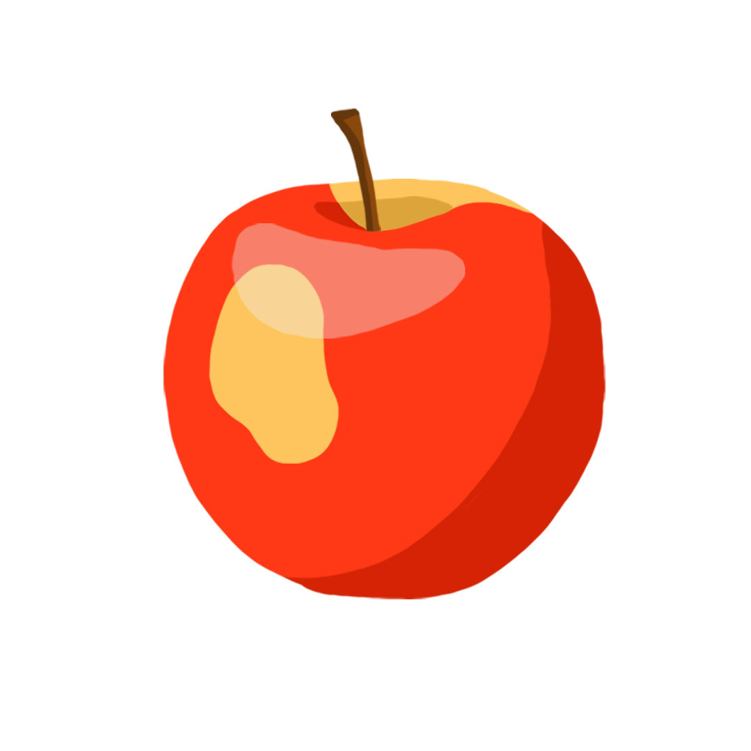 Types of apples - Gala apple picture