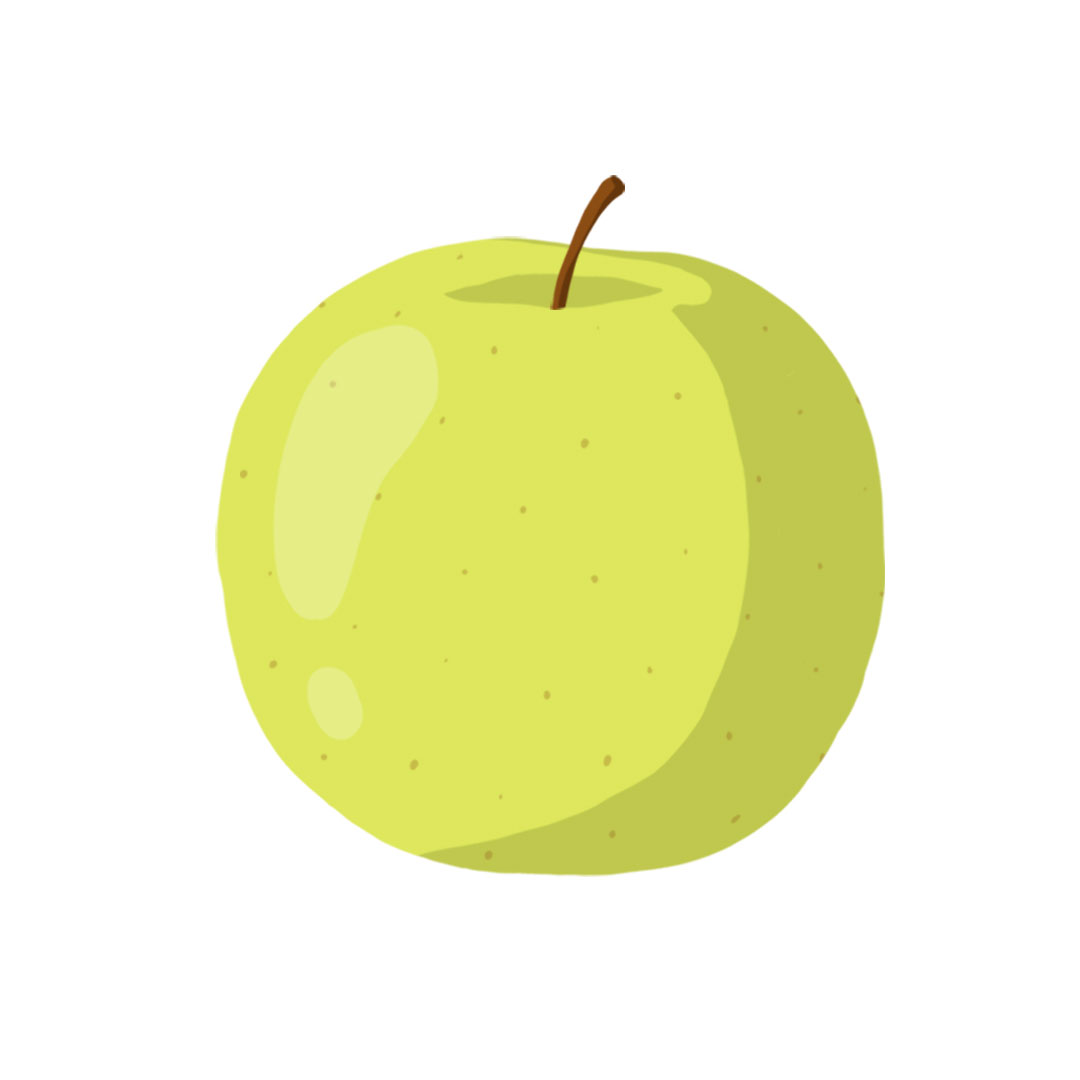 Types of apples - Golden Delicious apple picture
