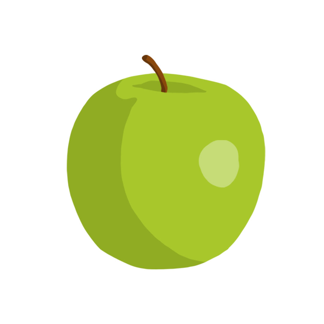 Types of apples - Granny Smith apple picture