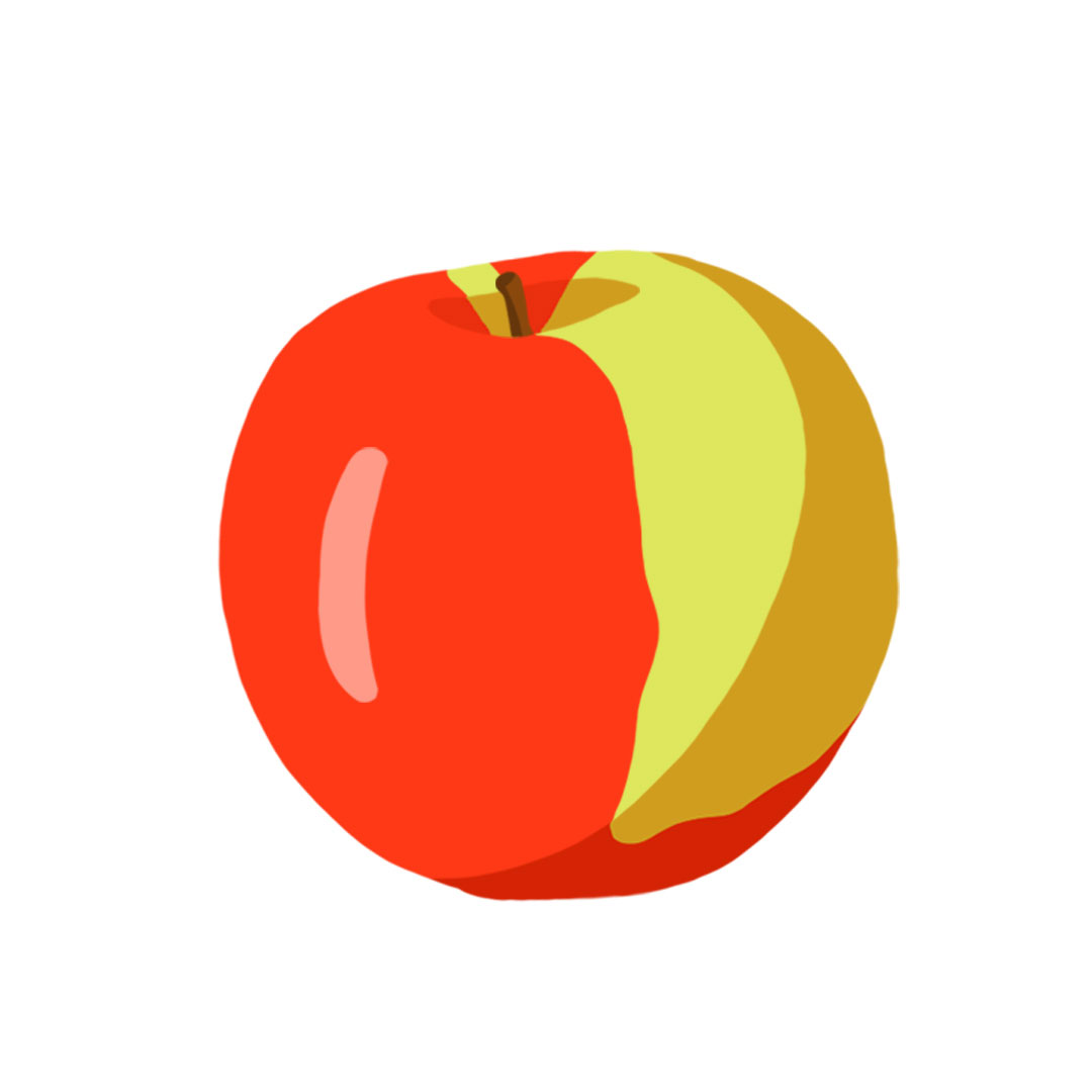 Types of apples - McIntosh apple picture