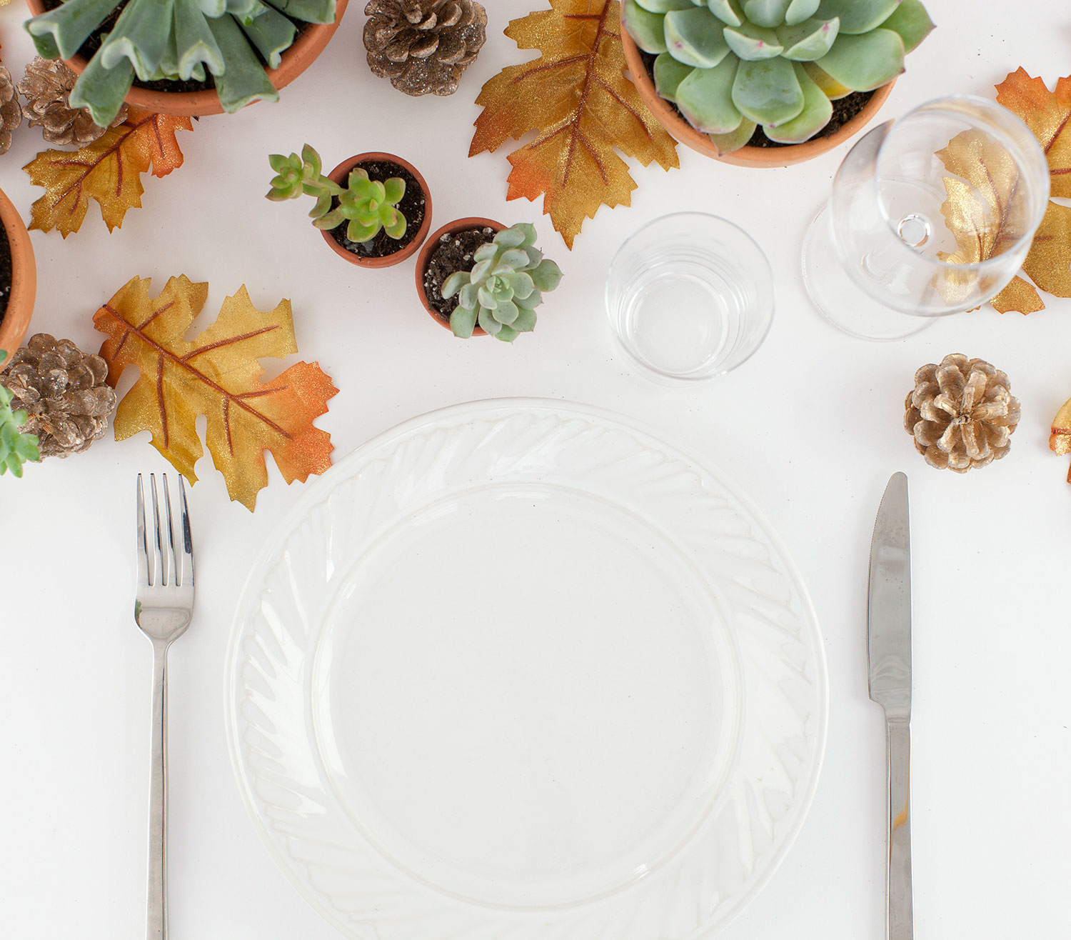 Thanksgiving crafts, ideas - Natural Table Runner