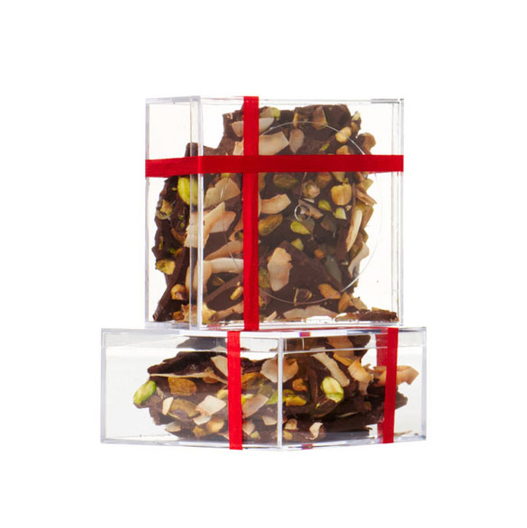 Homemade food gifts recipes - Coconut and Pistachio Bark