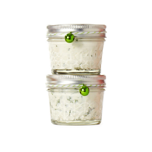Homemade food gifts recipes - Herbed Goat Cheese