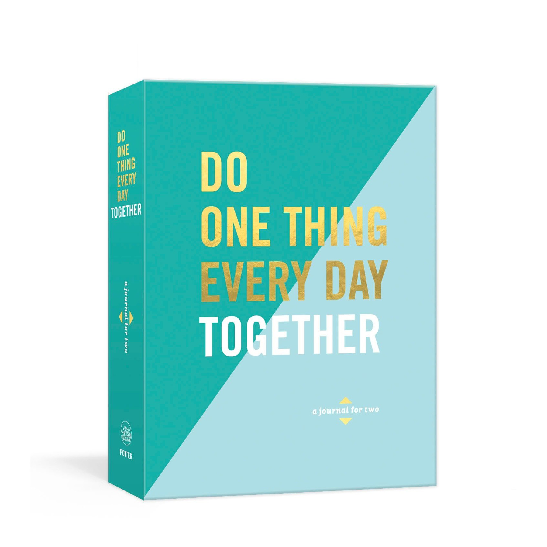 Engagement Gifts Ideas: Do One Thing Every Day Together journal for couples