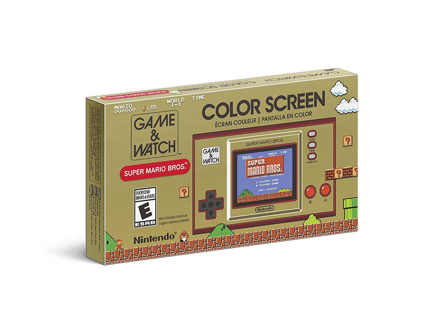 Gifts for men, gift ideas for him - For the Nostalgic Guy: Nintendo GAME & WATCH: SUPER MARIO BROS.