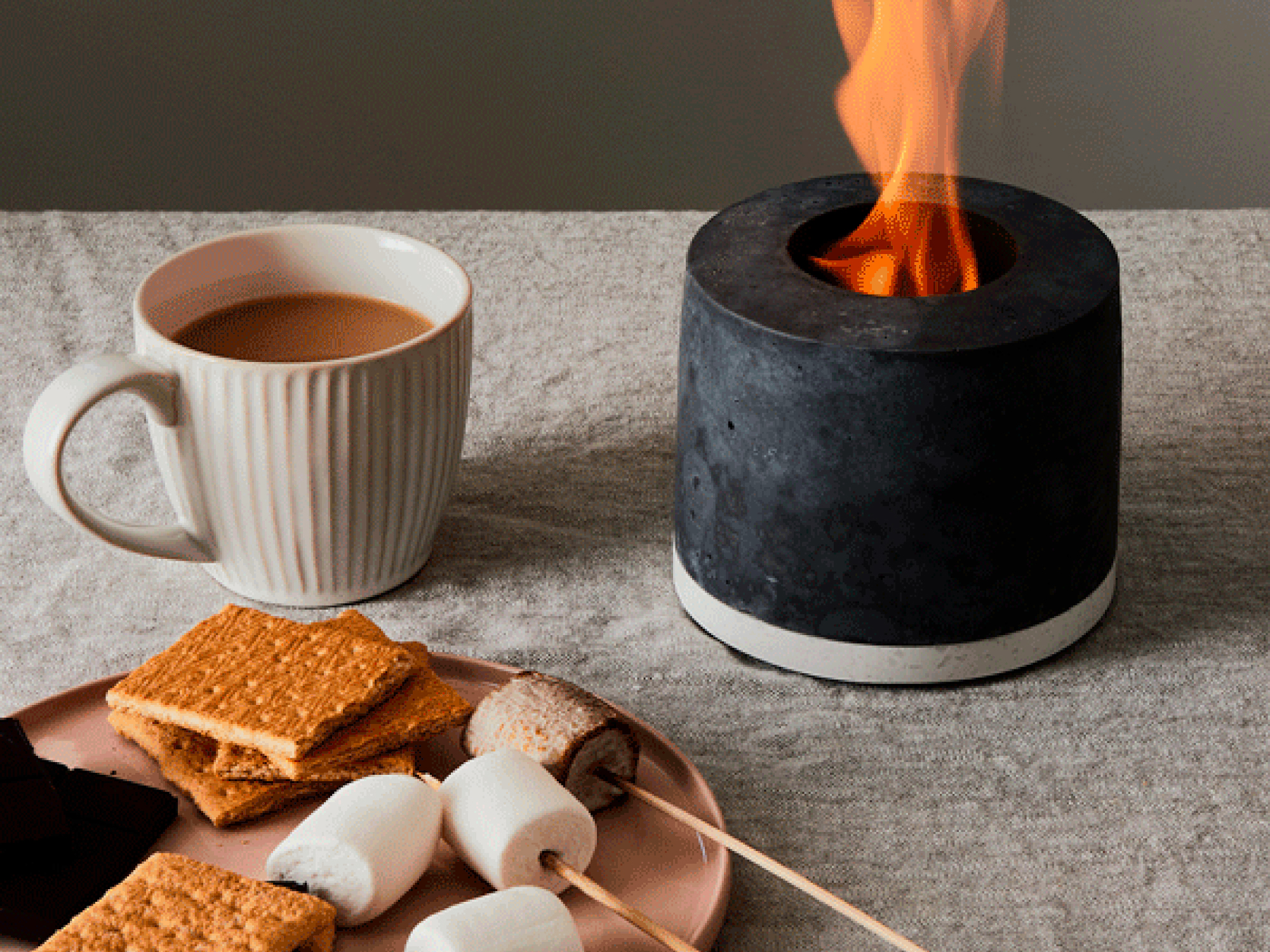 Best gifts for women, for her - Portable fireplace