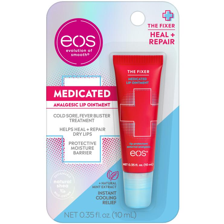 EOS The Fixer Medicated Lip Ointment and The Hero Extra Dry Lip Treatment
