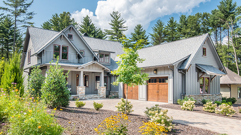 Southern Living House Plan, French Broad Retreat