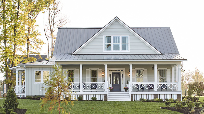 Southern Living House Plans 4, house with porch