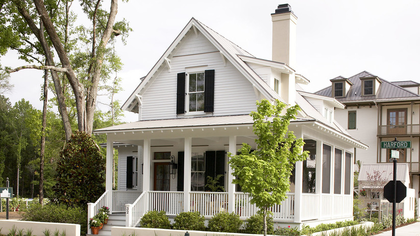 Southern Living House Plan, Sugarberry