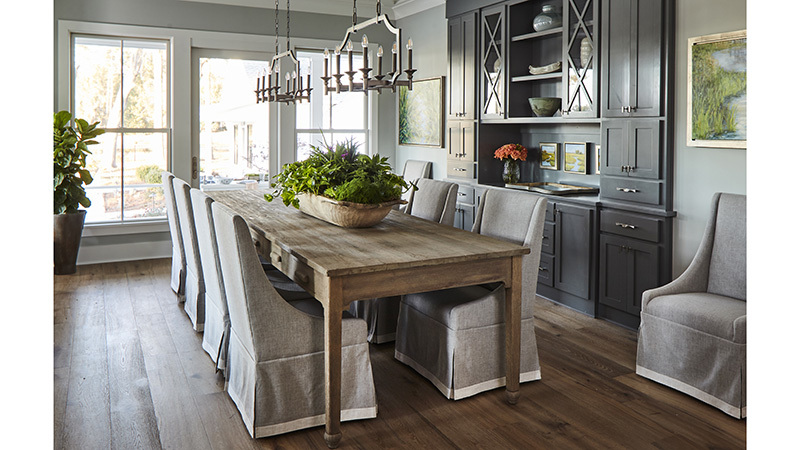 Southern Living House Plans, Dining Room