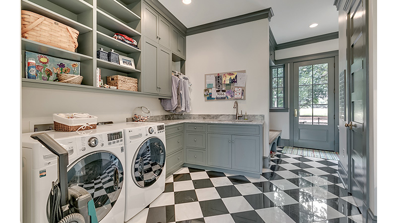 Southern Living Sweetwater Retreat Laundry Room