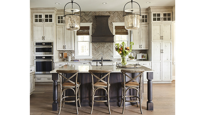Southern Living House Plans 4, Kitchen with Cabinets
