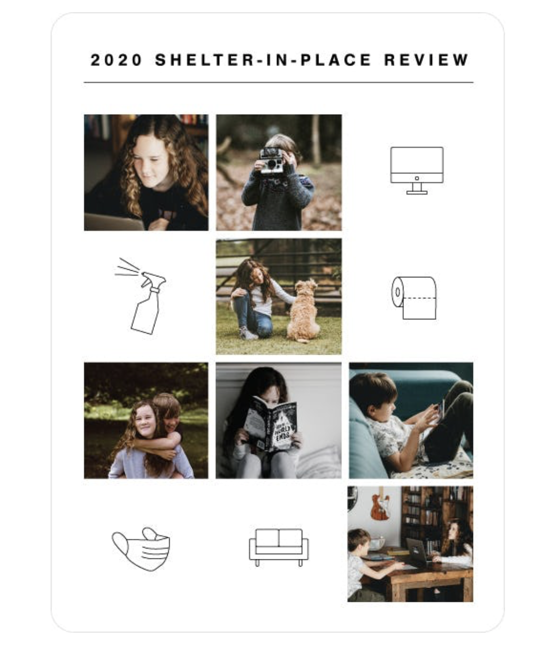 Shelter-in-Place Holiday Card