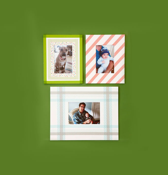 Christmas crafts ideas - Patchwork Frames