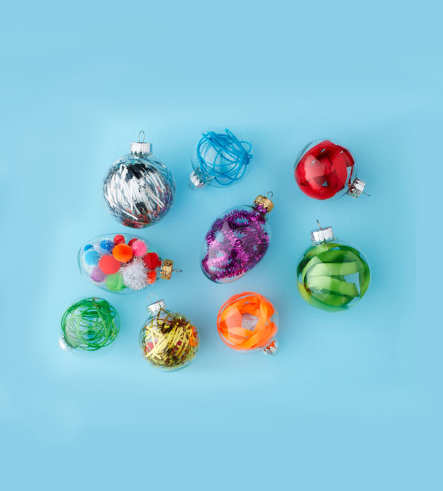 Christmas crafts ideas - Festive Ornament Fillers
