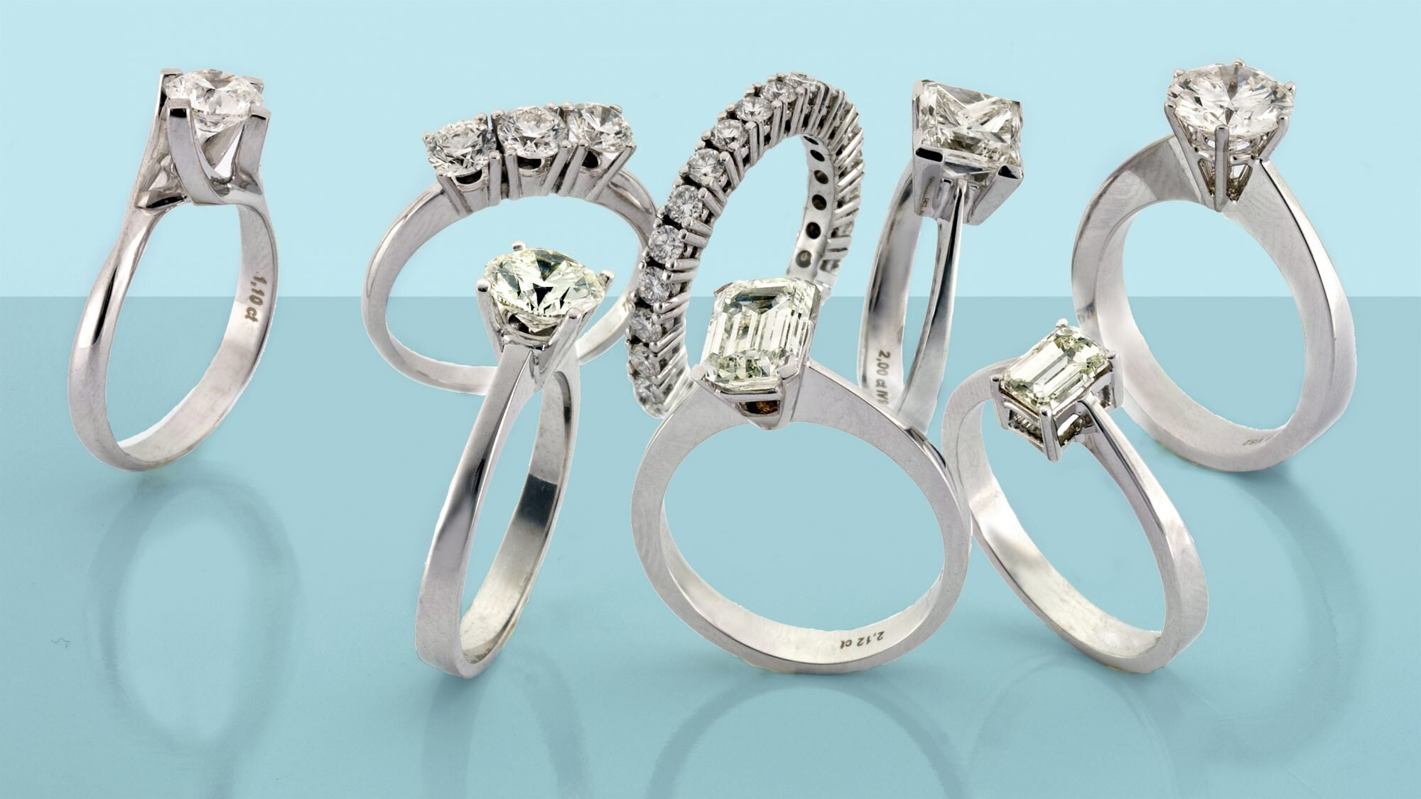 Types Of Engagement Ring Settings Pros And Cons Of Different Ring Settings Chart And Pictures Real Simple